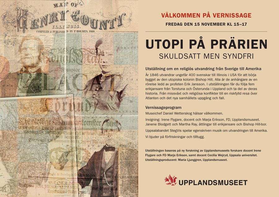 Vernissage! Utopi på prärien - Skuldsatt men Syndfri